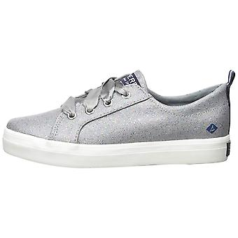 Kids Sperry Girls Crest Vibe Low Top Lace Up Fashion Sneaker