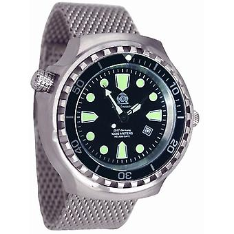Tauchmeister Xxl automatic watch 1000 m Diver Craft T0253mil