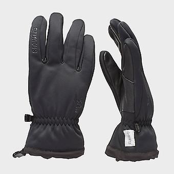 New Snowlife Men's Soft Shell Glove Black
