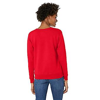 Hanes vrouwen ' s Ugly Christmas Sweatshirt, beste rood, medium