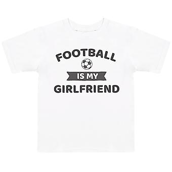 Football Is My Girlfriend- Kids T-Shirt