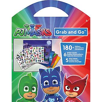 Grab and Go Stickers - PJ Masks New st9147