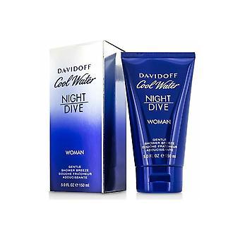 Davidoff Cool vand nat dykke kvinde blid bruser brise shower gel 150ml