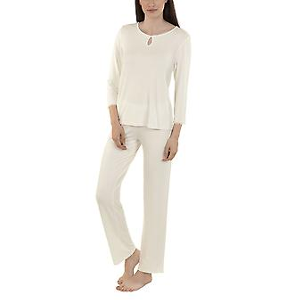 Lisca 23264-CE Women's Felicity Cream Pyjama Set