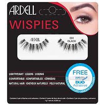 Ardell Wispies Clusters False Eyelashes - 601 Zwart