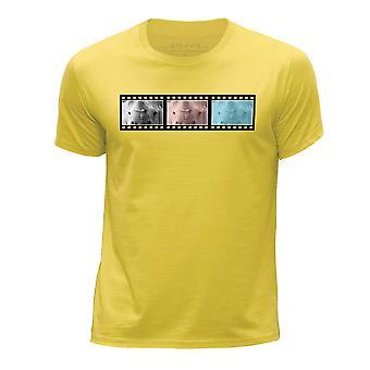 STUFF4 Menn rundt hals T skjorteFilm Strip dyr Tiger