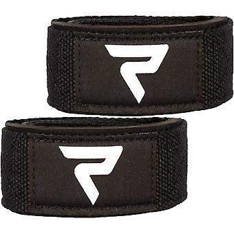 Performa Premium Padded Weight Lifting Straps - Black/White