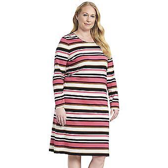 Rösch 1194551-11874 Women's Curve Multicoloured Striped Nightdress