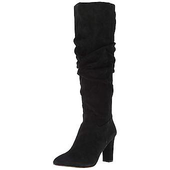 Franco Sarto Women's L-Artesia Knee High Boot Black 9.5 M US