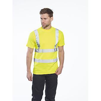 Portwest katoenen comfort korte mouw werkkleding t-shirt s170