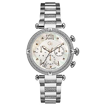 Gc Guess Collection Y16001l1mf Cable Chic Ladies Watch 38 Mm