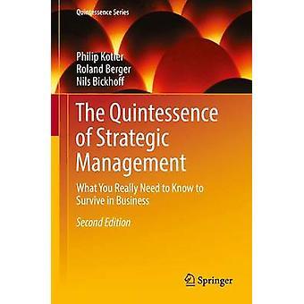 Kwintesencja zarządzania strategicznego - to, co naprawdę trzeba Kno