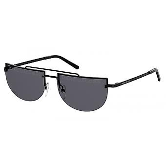 Sunglasses Women's Half-Bean Black
