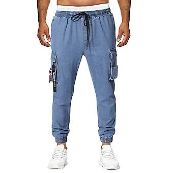 Allthemen Men-apos;s Loose Fit Tooling Jeans