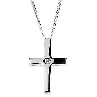 Orton West Diamond Set hanger - zilver