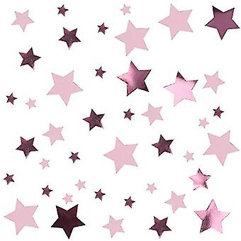 Little Star Pink - Table Scatters Pink Stars Birthday Party Decoration