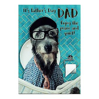 Nigel Quiney Publications It's Fathers Day Dad Enjoy The Peace And Quiet! Card Df246