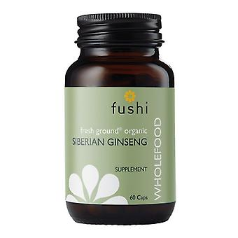 Fushi Wellbeing Wild Crafted Siberian Ginseng Root 333mg Veg Caps 60 (F0020735)