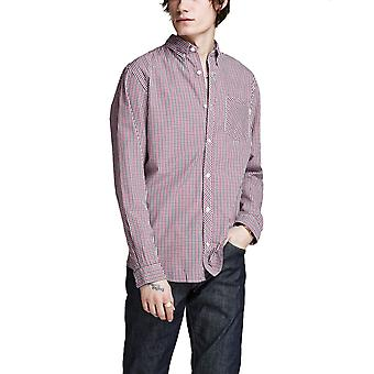 Jack & Jones Men's London Slim Fit Check Shirt