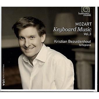 W.a. Mozart - Mozart: Keyboard Music, Vol. 3 [CD] USA import