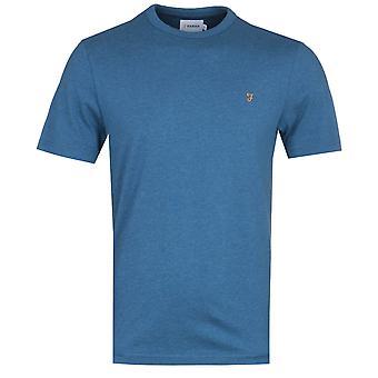 Farah Dennis Blauwe Mergel T-shirt