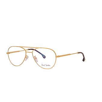 Paul Smith ANGUS PSOP006V1 03 Matte Silver - Black Ink Glasses