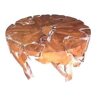 Kořenový kulatý konferenční stolek