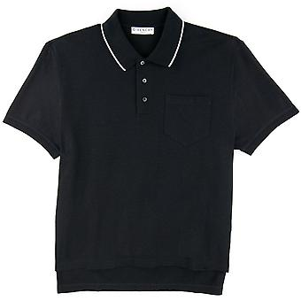 Givenchy Back Print Polo Nero