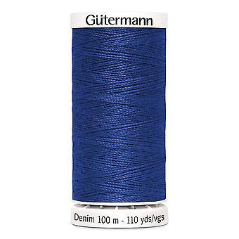 Gutermann Denim 100m No.50 Polyesterfaden für Hand und Maschine - Farbe 6756