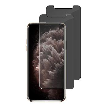 2-pack Screen Protection with privacy protection for iPhone 11 Pro max/XS max