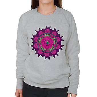 Rick og Morty Rick Kaleidoscope kvinder ' s sweatshirt