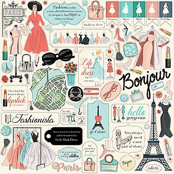 Carta Bella En Vogue 12x12 Inch Element Sticker