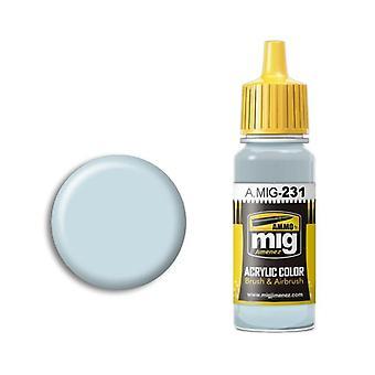 Ammo by Mig Acrylic Paint - A.MIG-0231 RLM 65 Hellblau (17ml)