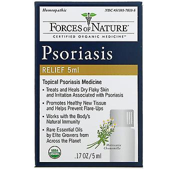 Forces of Nature, Psoriasis Relief, 0.17 oz (5 ml)