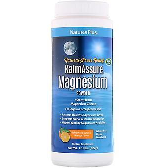 Nature's Plus, Kalmassure, Magnesiumpulver, Oransje smak, 400 mg, 52