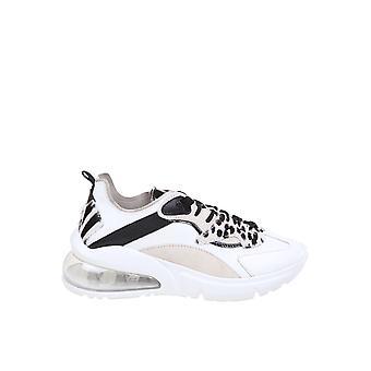 D.a.t.e. W331arwiwb Women's Multicolor Leather Sneakers