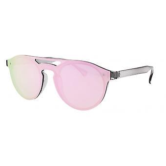 Sonnenbrille Damen    Kat.2 grau/rosa (AMU19205 B)