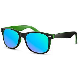 نظارات شمسية للرجال المسافرين الرجال الأسود والأخضر / الأزرق (CWI2502)