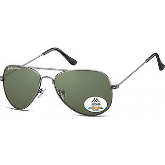 Sunglasses Unisex Aviator silver (MP94C)