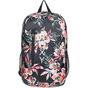 Roxy Fresh Air Packable Backpack in Anthracite Wonder Garden S