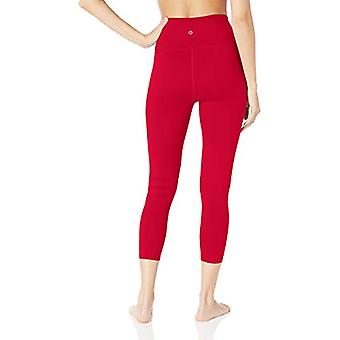 Core 10 Women's Plus Size All Day Comfort High Waist 7/8 Crop Yoga Legging - ...