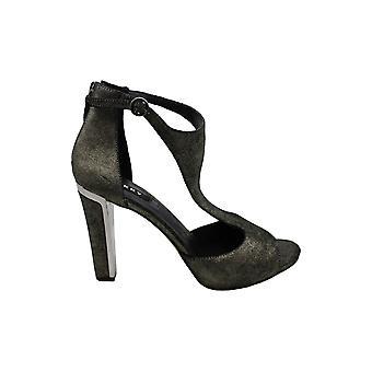 DKNY mujeres Colby ante bombas vestido sandalias de vestir marino 8 medio (B,M)