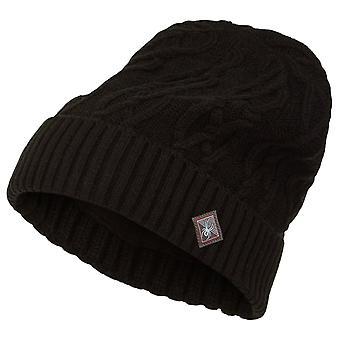Spyder CABLE KNIT Women's Knit Winter Ski Hat Black
