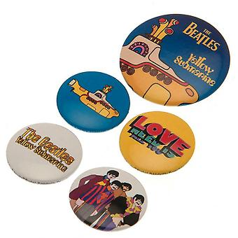 The Beatles Badge Set (Pack of 5)