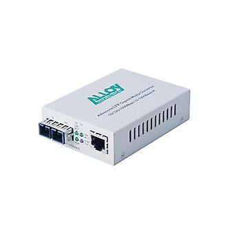Alloy Gcr2000Sc Gigabit Standalone Rackmount Media Converter