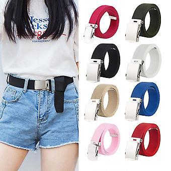 Adjustable Metal Buckle, Waist Belt