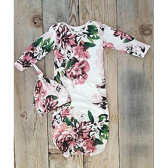 Newborn Baby Pajamas, Cotton Soft Nightdress