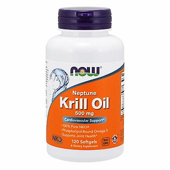 Now Foods Neptune Krill Oil, 500 mg, 120 Softgels