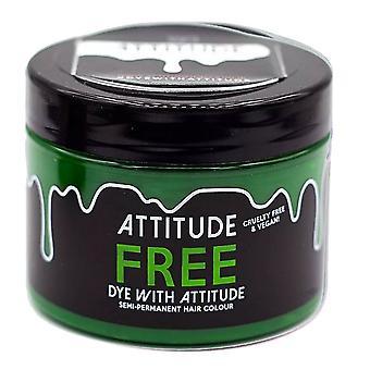 Attitude Semi Permanent Cruelty-free & Vegan Hair Dye - Free Green 135ml