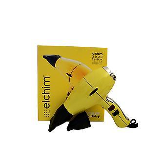 Elchim 3900 Titanium Ionic Ceramic Hair Dryer Yellow Daisy